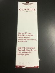 Clarins Super Restorative Remodeling Serum Lifts Replenishes Anti Age Spots 3252