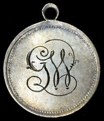 Love Token 17mm Love Token Engraved Gw Fancy Script Blessings And Happiness