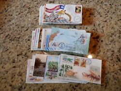 131 Diff Lois Hamilton Ham Hand Painted Handpainted First Day Covers 1979/1992
