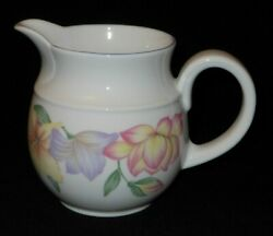 Royal Doulton Expressions Blooms 1991 Cream Pitcher. 3595z