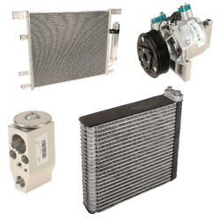 For Nissan Versa Note 1.6l L4 A/c Condenser And Expansion Valve And Evaporator Kit