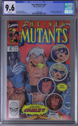 New Mutants 87 Marvel 1990 1st Cable And Stryfe Cgc 9.6 Near Mint +