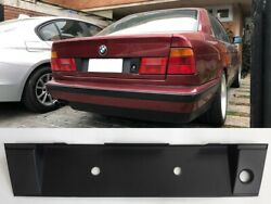 Bmw E34 M5 Rear Number Frame License Plate Frame Bracket Abs Plastic With 3m