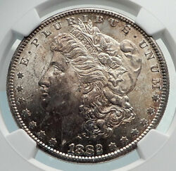 1882 United States Of America Silver Morgan Us Dollar Coin Eagle Ngc Ms I79844