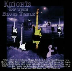 Knights Of The Blues Table 1997 [cd] Miller Anderson Jack Bruce Maggie Be...