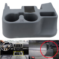Grey Center Console Cup Holder For Dodge Ram Add-on 1500/2500/3500 2003-2012