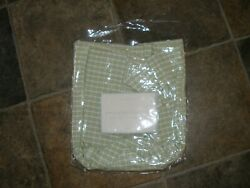 New Pottery Barn Small Penny Check Basket Liner