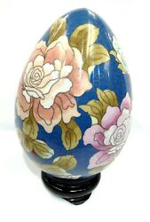 Handmade Chinese Cloisonne Collectible Egg