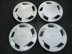 Factory 1990 To 1993 Nissan Axxess 14 Inch Hubcaps Wheel Covers