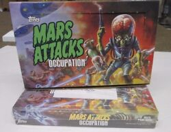 Mars Attacks Occupation Topps Sealed Box Gold Version Box Less Than 50 Made