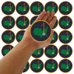 Wholesale Lot Masters Golf Agusta Tournament Logo Sew Embroidered Iron On Patch