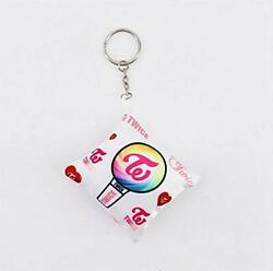 TWICE Keychain Pen Light Cushion Type Cute Popular Goods Key Ring Girls group