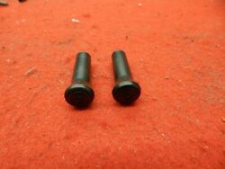 2 Nos 53 54 55 56 57 58 59 Ford Black Door Lock Pull Knobs B7a-7021850-a