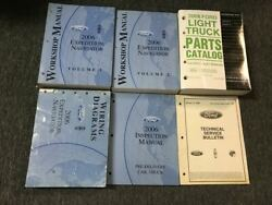 2006 FORD EXPEDITION & LINCOLN NAVIGATOR Shop Repair Service Manual Set OEM +