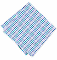 Bar III Men's Cotton Pocket Square - 6 Color Designs to Choose From