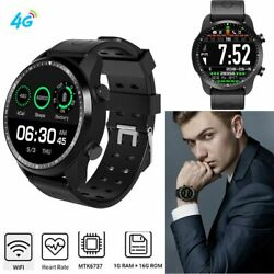 Wifi Smart Watch 4G Cell Phone Android 6.0 Quad Core GPS Wristwatch Men Gift