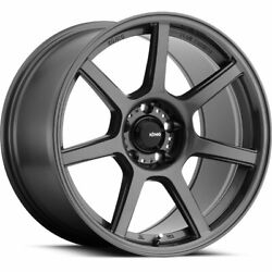 4 - 18x9 Gray Wheel Konig Ultraform 5x4.5 38