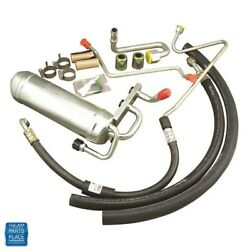 1965-1967 Gto Lemans Tempest A/c Air Conditioning Hose Kit With Muffler