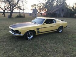 1969 Ford Mustang High level restoration Boss 302 1969 Ford Mustang High level restoration Boss 302 75313 Miles Yellow Hardtop 302