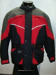 /tour Master Large L Nylon Padded Motorcycle Tech Jacket Combine Ship Discount
