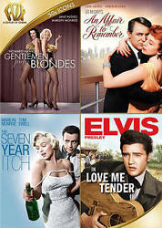 Fox Movie Collection Dvd 50's Icons Sealed Marilyn Monroe Elvis Presley