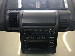 03 Infiniti G35 GPS 6 CD Tape Player Changer AC Climate Control Panel OEM
