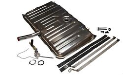 1970 Olds F85 Stainless Gas Tank Kit Gm34q 2-vents Sender Straps And Pad