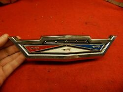 Used 63 Ford Galaxie 500 500 Xl Ford Crest Grille Ornament C3az-8213-a Nice