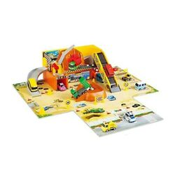 The Little Bus Tayo Heavy Equipment Playset Heavy Duty Construction Site Play