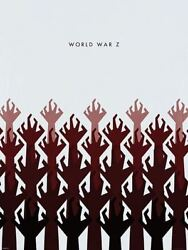 World War Z Zombie Movie Rare Limited Edition Huge 32x20 Art Print Poster Hands