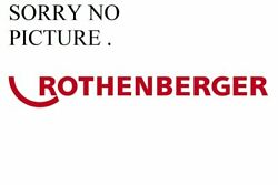 Rothenberger Reduction And Clamp Insert R / R For P500b / 630b 355mm 53432
