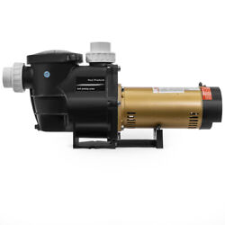 2hp 5850gph In-ground Swimming Pool Pump Variable 2-speed W/ Strainer 230v