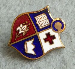 Vintage Church Covenanters Enamel Badge From The 1960s, By Miller.