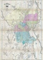 1875 Map Of The City Of Providence Rhode Island