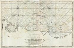1794 Laurie Amd Whittle Nautical Map Of The Northwest Java Jakarta Indonesia