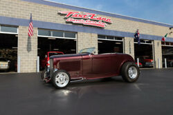 1932 Ford Roadster Steel 1932 Ford Hiboy Roadster Brookville Steel Body Ultraleather Interior Soft Top