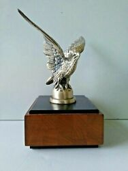 Vintage A.c. Rehberger Chicago Eagle Paperweight Acr Limited Brass Figurine