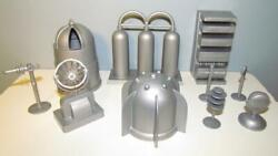 Marx Toys Pl-1516s-n Cape Canaveral Accessories Silver 54mm Plastic Toys