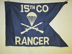 Flag1276 Korea Us Army Guide On 15th Co Company Ranger Airborne Infantry Ir42e