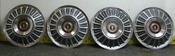 Oem Set Of 4 15 Hub Cap Wheel Cover C7az1130b 1969-72 Ford Pickup F Series2413