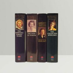 Margaret Thatcher - 4 Book Collection - Signed First Edition Books - 1st Rare