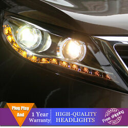 For Kia Sportage Headlights Double Lens Beam Projector Hid Led Drl 2011-2016
