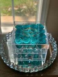 Preserved Rose Box   Blue   Lasts Up To A Year Or More