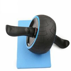Wheel Roller Abdominal Automatic Rebound Belly Silence Muscle Training Aluminum