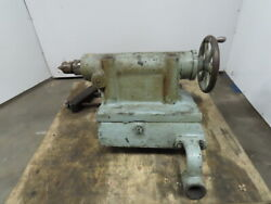 Lodge And Shipley Model 24 Engine Lathe Tail Stock Assembly 24 Swing