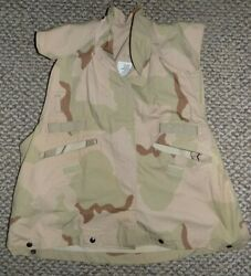 Us Military Army Desert Camouflage Cover Pasgt Vest Small / Medium Paintball