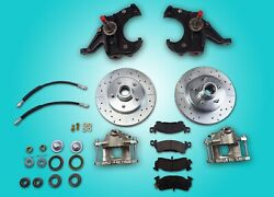 Chevrolet C10 Truck 2.5 Drop Spindle Front Disc Brake Conversion 5 On 5 Circle