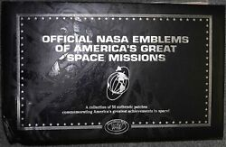 Scarce Official Nasa Emblems Of Americas Great Space Missions Apollo 11 + More
