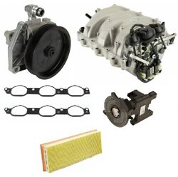 For Mercedes W164 Power Steering Pump Intake Manifold And Gaskets Air Filter Kit