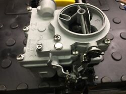 Vintage Speed Rochester 2g Primary Carb In Textured Silver Tri Power Hot Rod